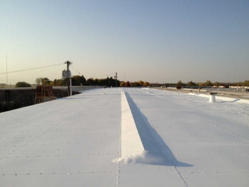 flat-commercial-roof-coating-ohio